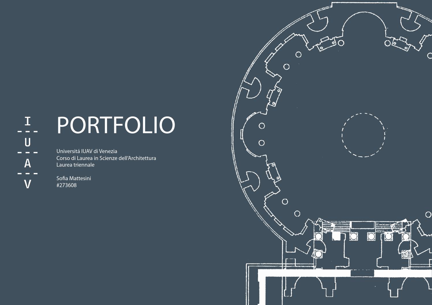 portfolio iuav by smattesini issuu