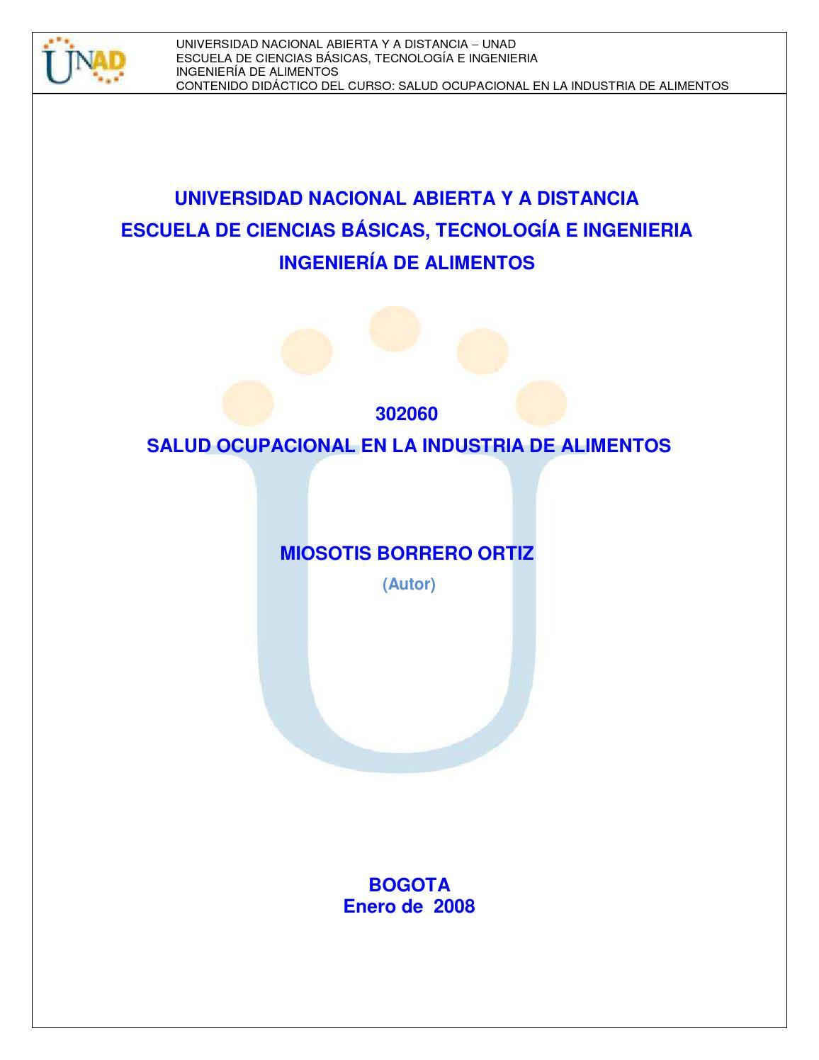 302060 modulo salud ocupacional en la industria de alimentos o k by ...