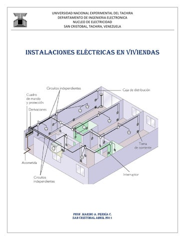 Instalaciones electricas en viviendas by jesantos issuu for Instalacion electrica de una vivienda paso a paso