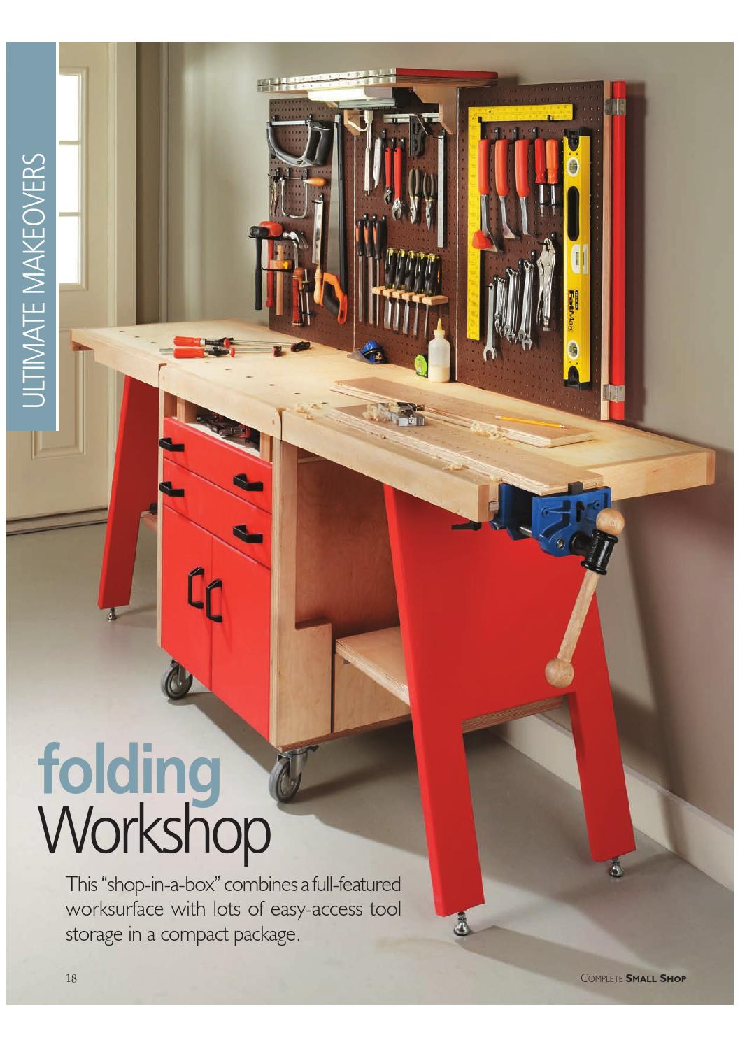Folding Workshop By Woodworker Issuu