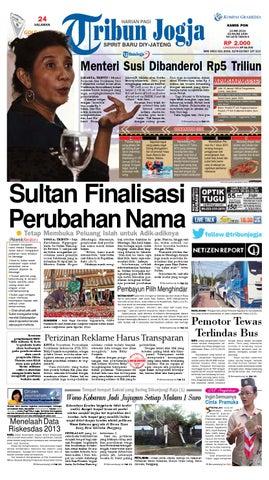 Menteri Susi Dibanderol Rp5 Triliun JAKARTA, TRIBUN - Menteri Kelautan dan Perikanan Susi Pudjiastuti curhat lewat akun Twitternya (terverifikasi) terkait ...