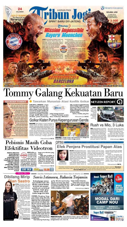 Tribunjogja 12 05 2015 By Tribun Jogja Issuu Produk Ukm Bumn Gaun Putih Maya Raisa Kebaya