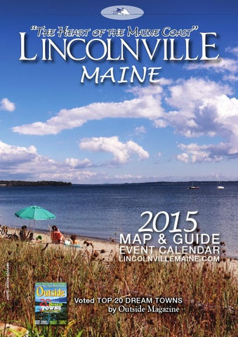 Lincolnville Maine Map Guide 2015 By Joseph Corrado Issuu