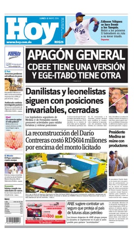 Periodico lunes 18 de mayo de 2015 by Periodico Hoy - issuu