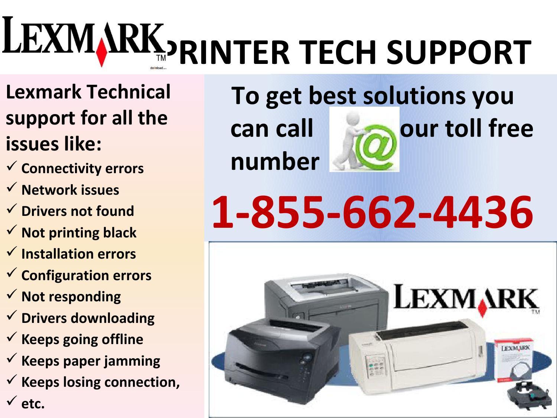 Lexmark Printer Technical Support #1-855-662-4436 :: Printer