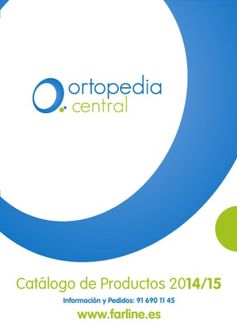 Catálogo de Ortopedia Central 2015 by Mundo Farmacéutico - issuu d700f6ea6ae3