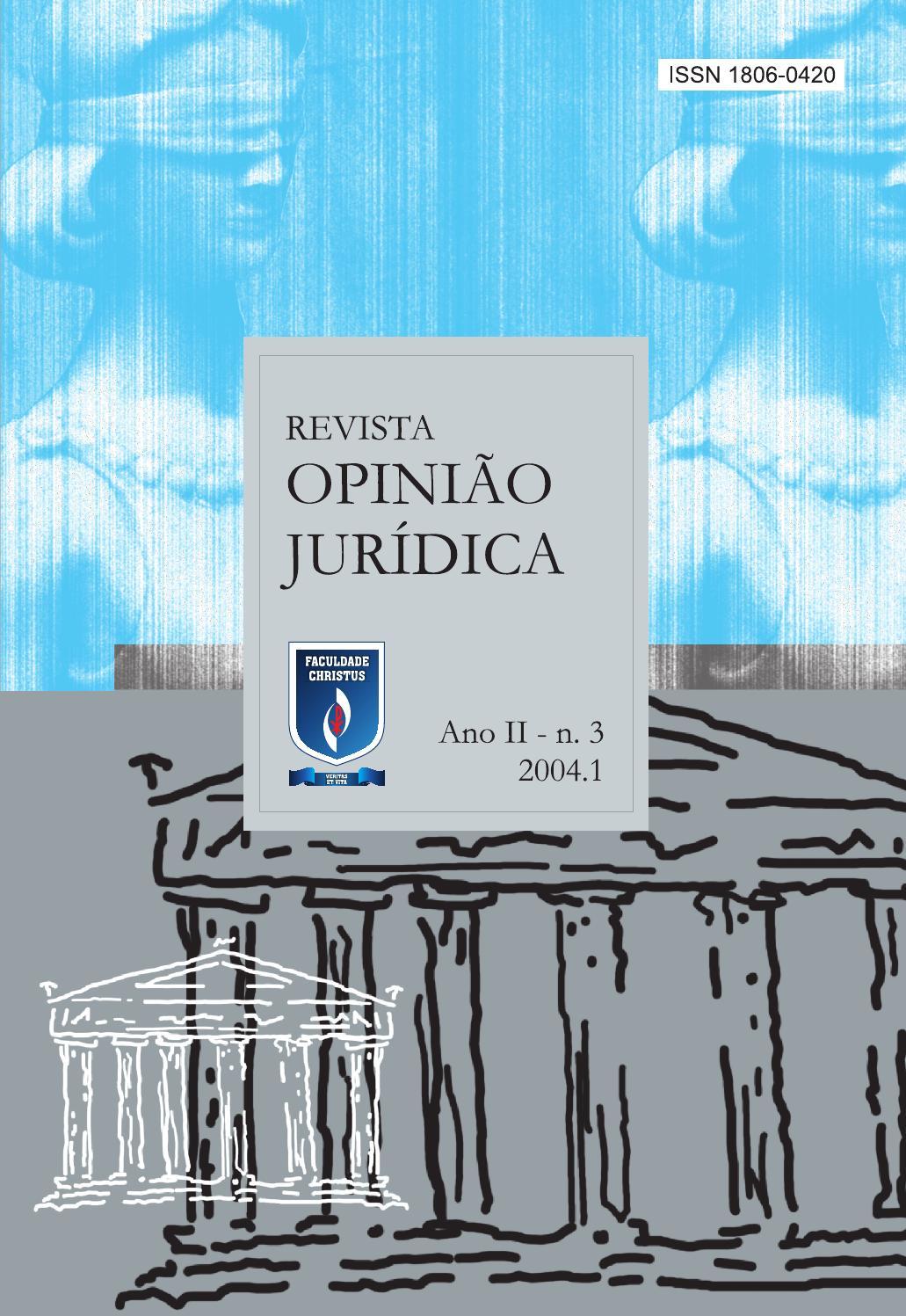 Revista opinio jurdica 03 by unichristus issuu fandeluxe Image collections