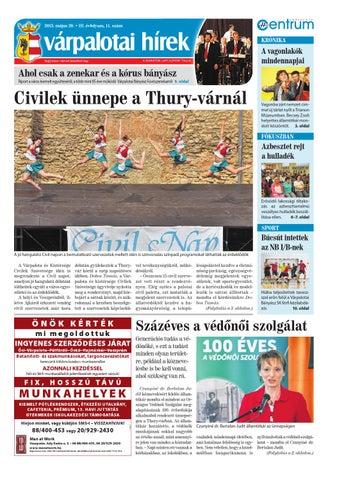 Várpalotai Hírek - 2015. 05. 20. by Maraton Lapcsoport Kft. - issuu ef26b41105