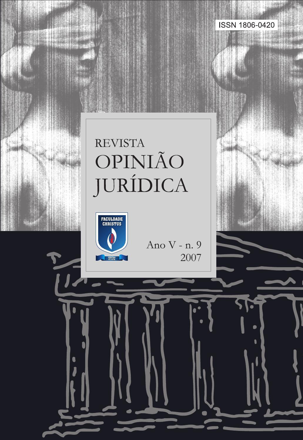 Revista opinio jurdica 09 by unichristus issuu fandeluxe Gallery