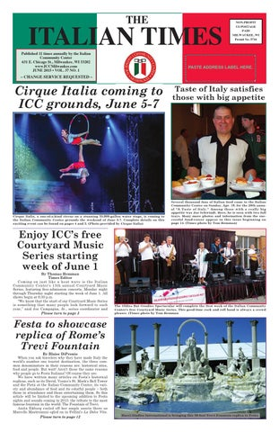 June 2015 online by Italian Community Center - issuu