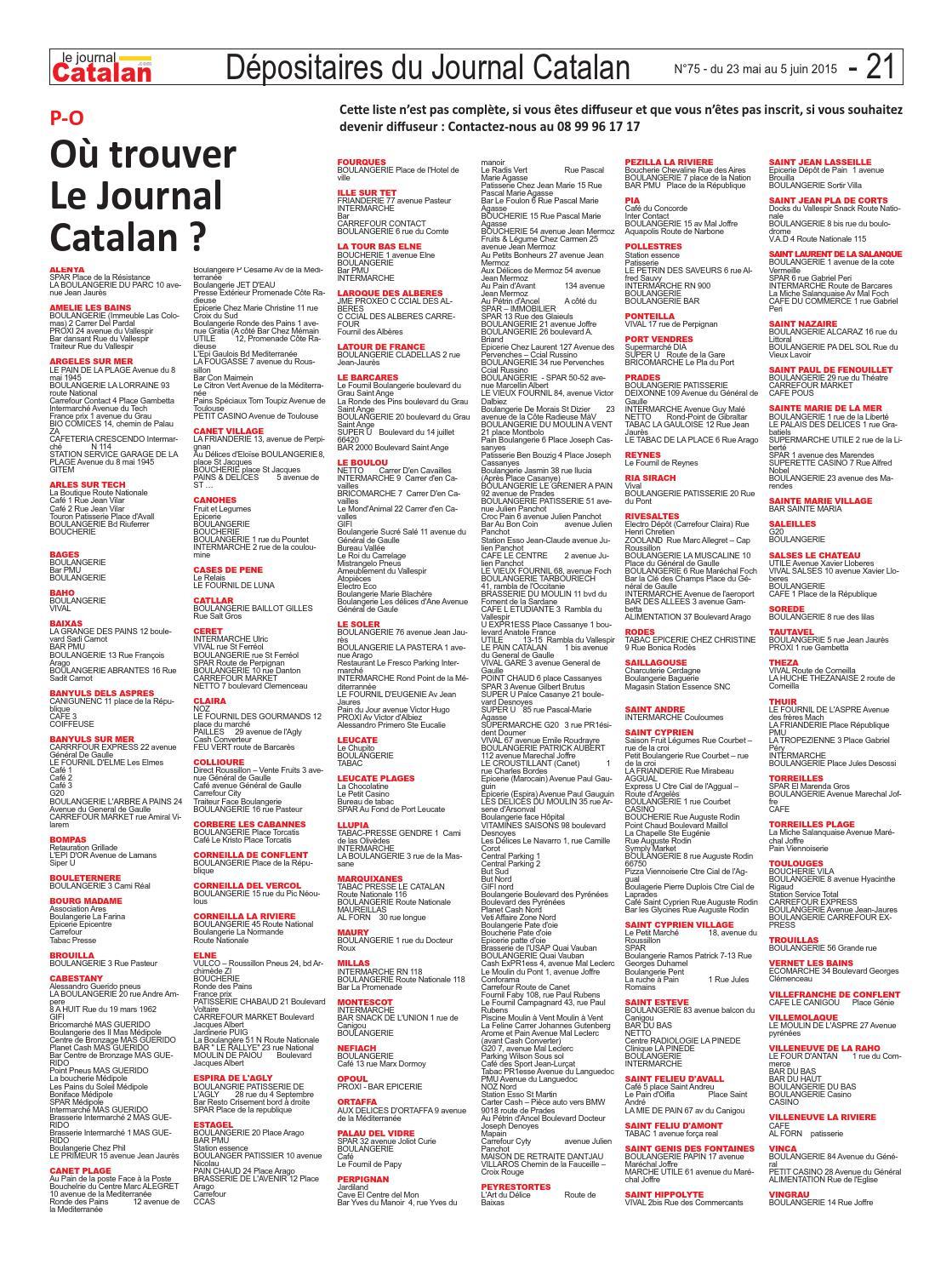 Le Journal Catalan N75 Pyrénées Orientales La Préfète