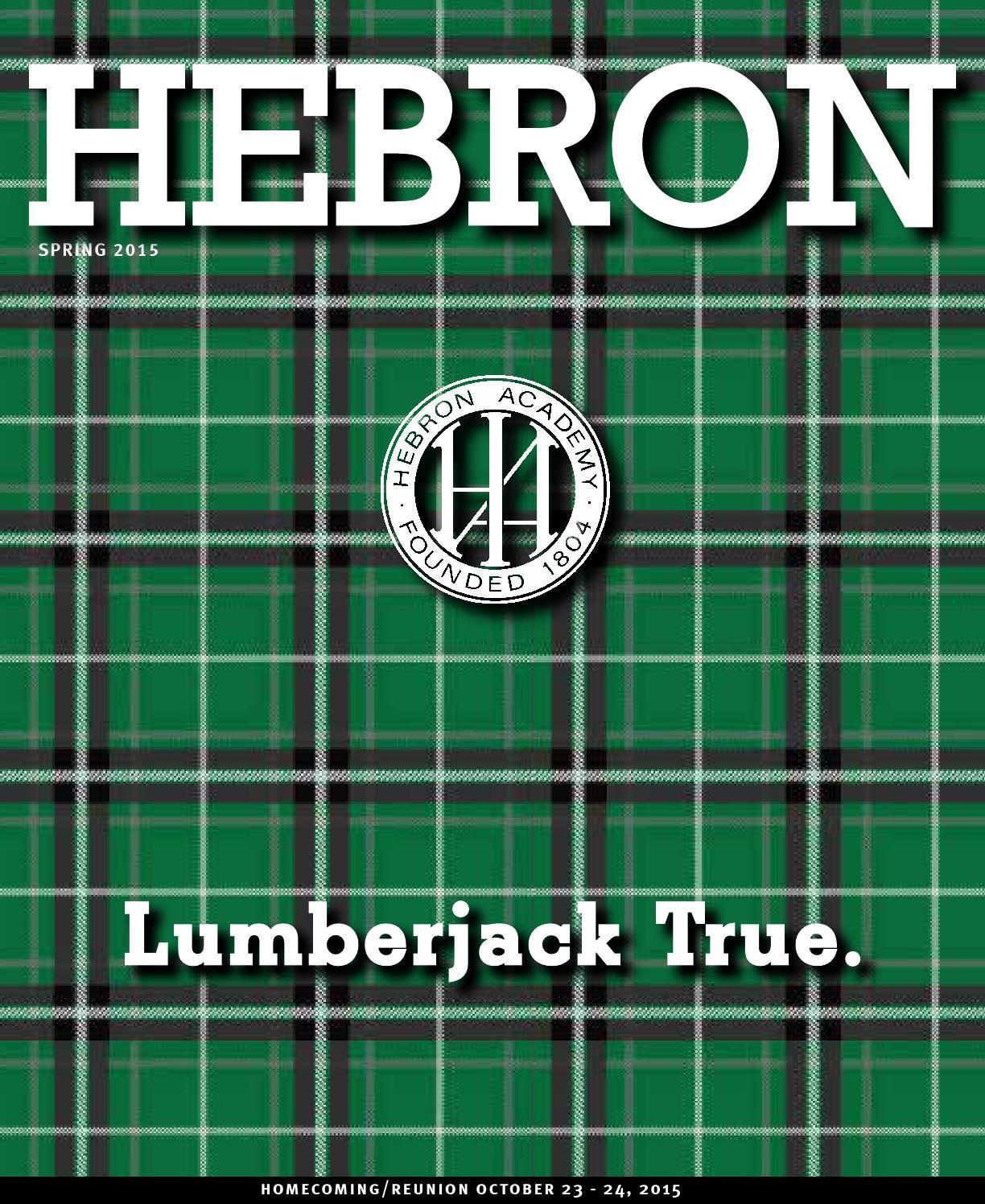 HEBRON Magazine Spring 2015 by Hebron Academy - issuu