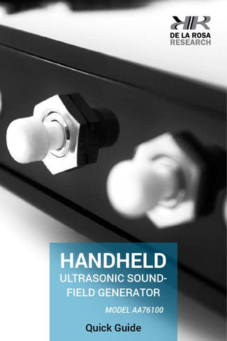 Hand Held Ultrasonic Phaser Pain Field Generator  // English by De