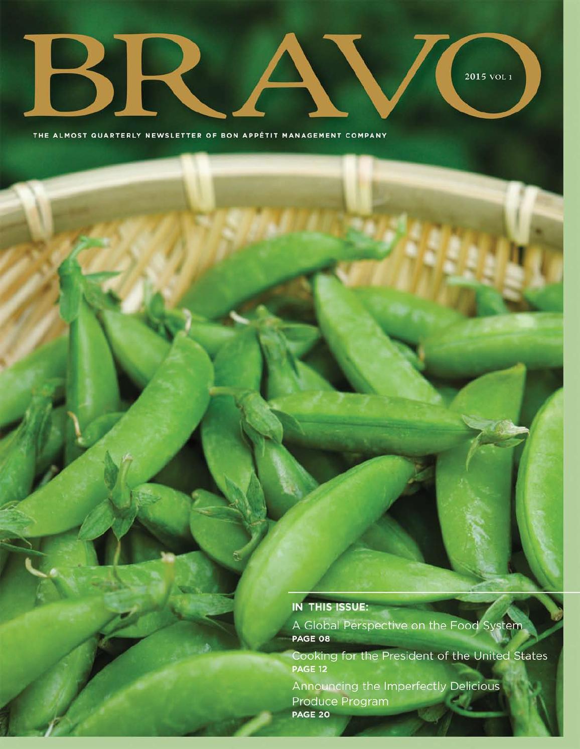 Bravo 2015 - Volume 1 by Compass Group USA - issuu