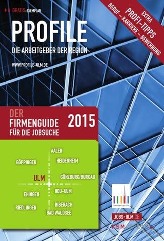 f39270b5c29aae PROFFILE Ulm 2015 by SMK Medien GmbH & Co. KG | PROFFILE - issuu