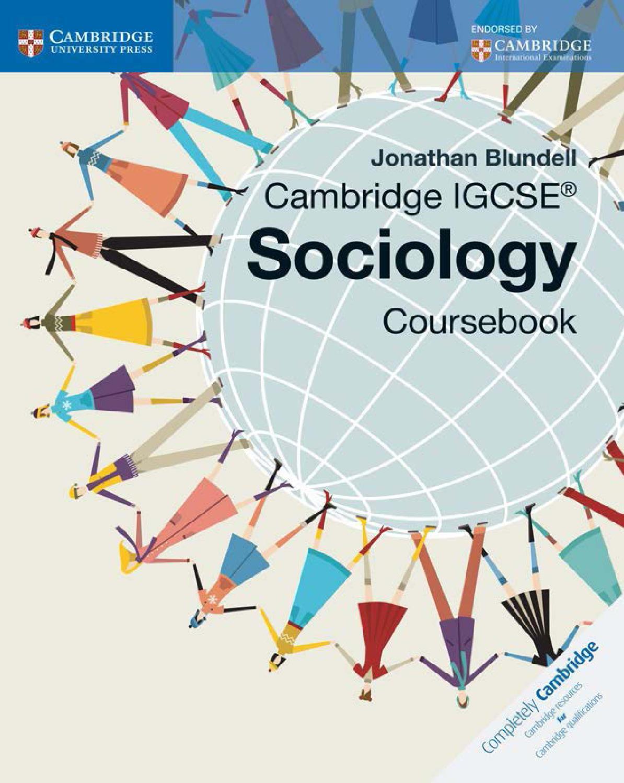 Cambridge Igcse Sociology Coursebook By Cambridge University Press Education Issuu