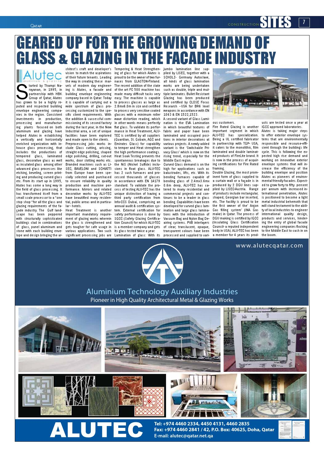 Construction Sites | May Issue no  94 by Qatar Construction