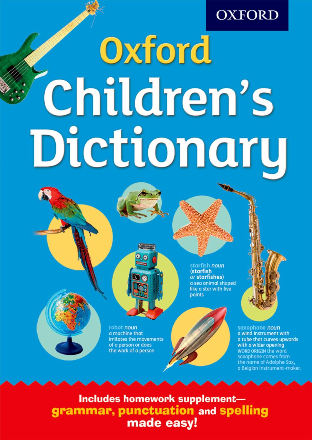 Oxford Children's Dictionary by Oxford Children's Books ...