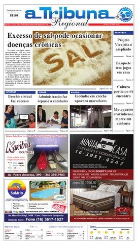 afdcf868683 jornal A Tribuna Regional de Cravinhos by Leandro Cavalcanti - issuu