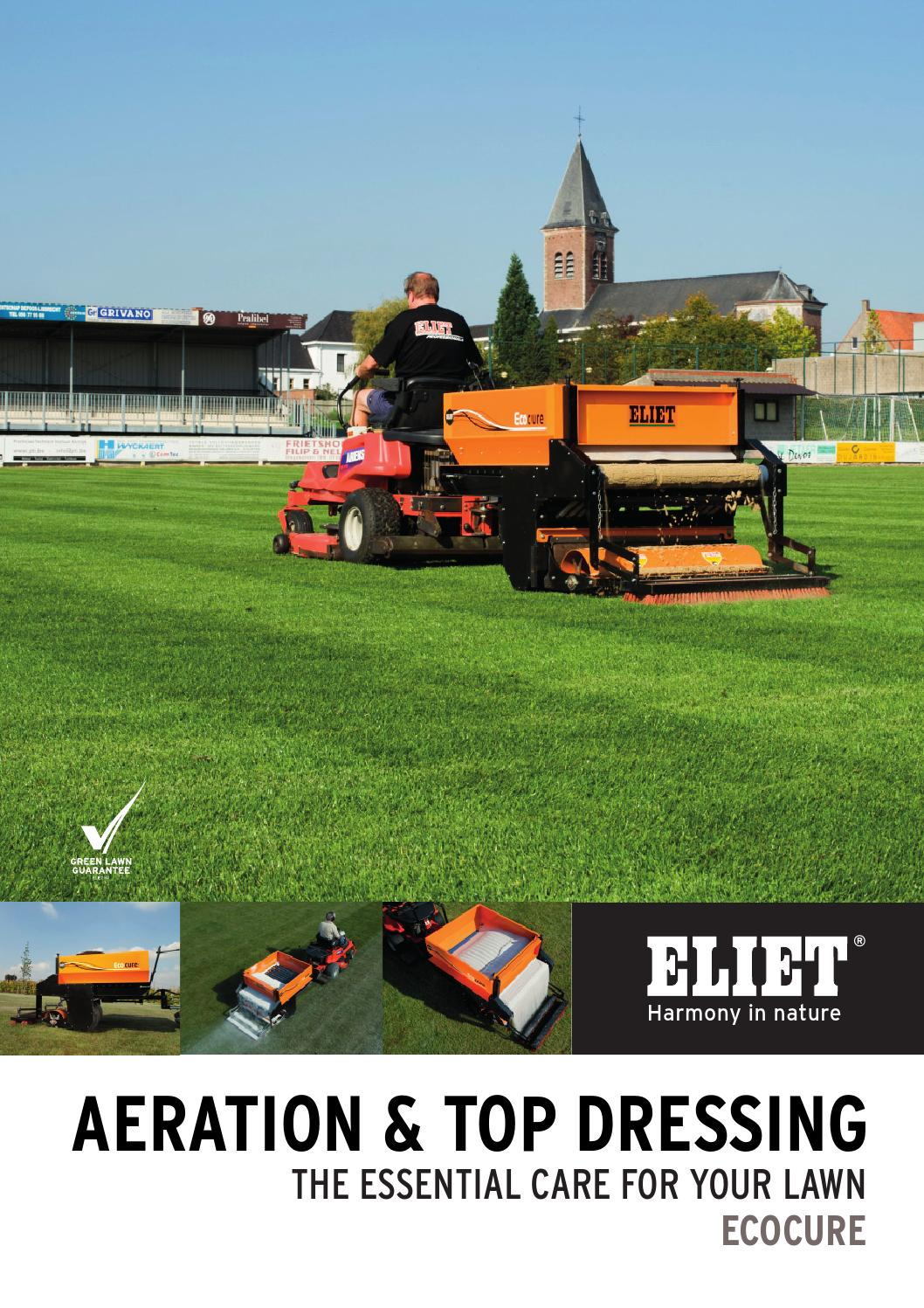 Aeration Amp Top Dressing Ecocure By Eliet Issuu