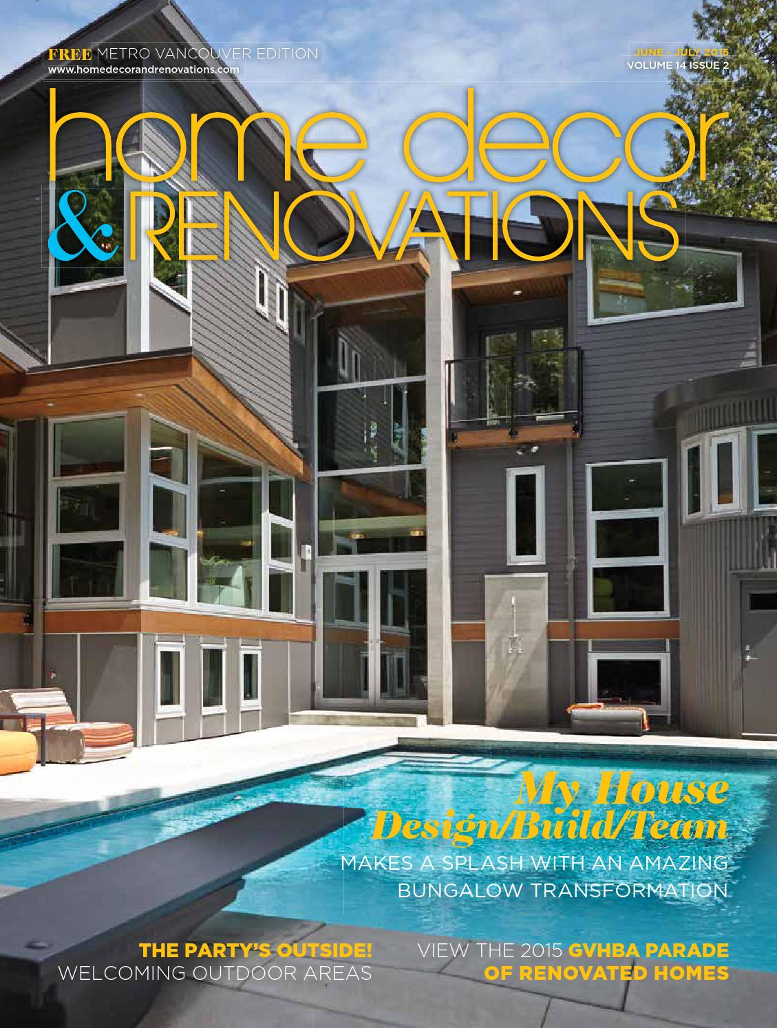 Vancouver Home DecorRenovationsJunJuly 2015 by YP NextHome