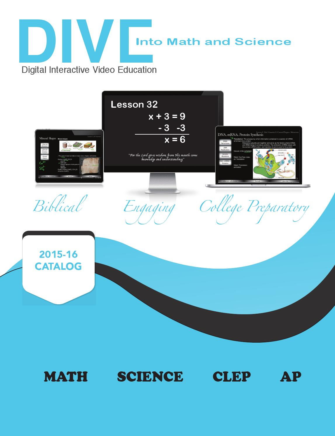 DIVE into Math and Science by Digital Publisher - issuu