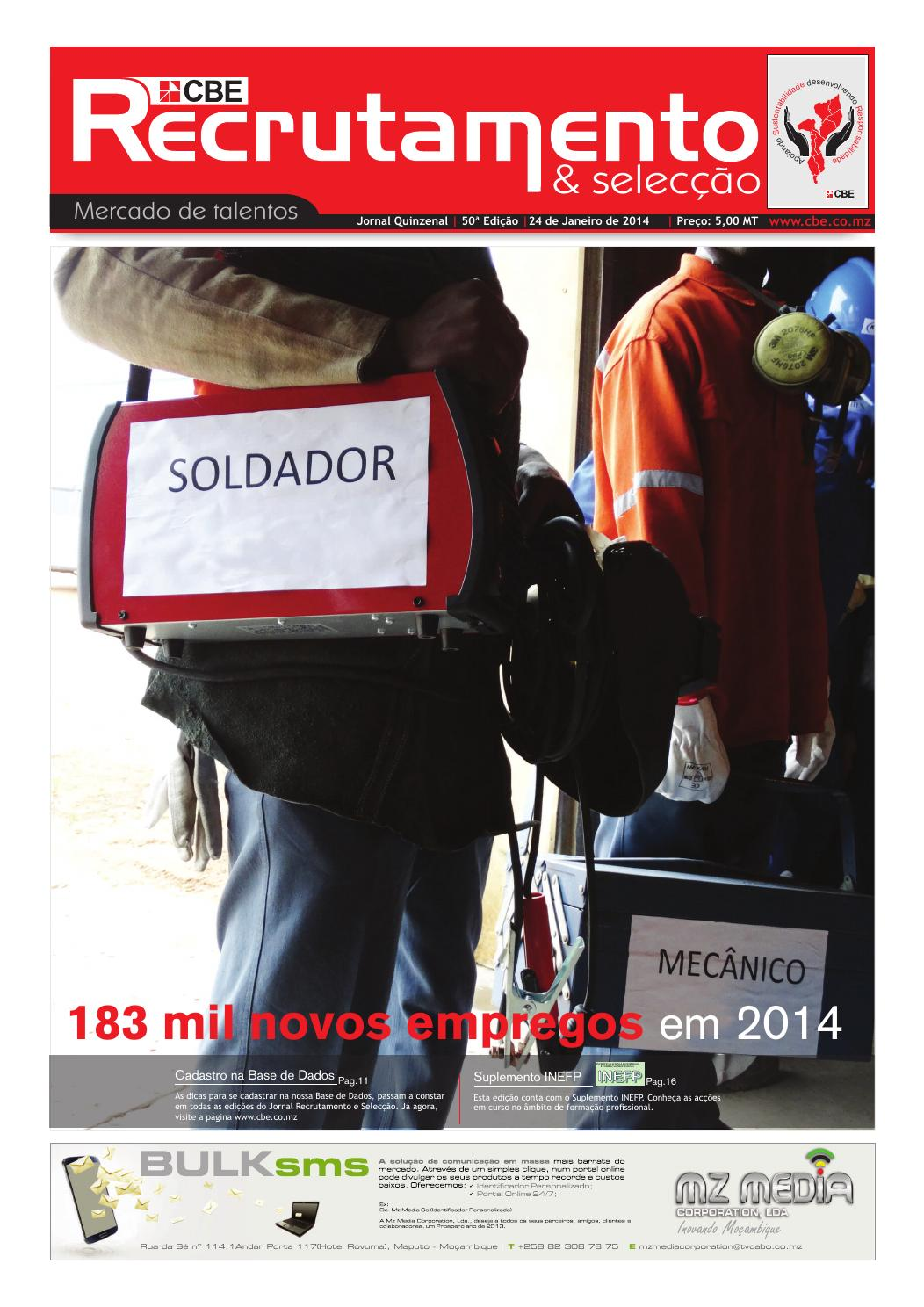 Cbe Jornal De Recrutamento E Seleccao 50 By Cbe Sa Issuu