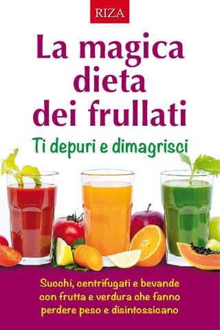 dieta di frullati per perdere peso in una settimana
