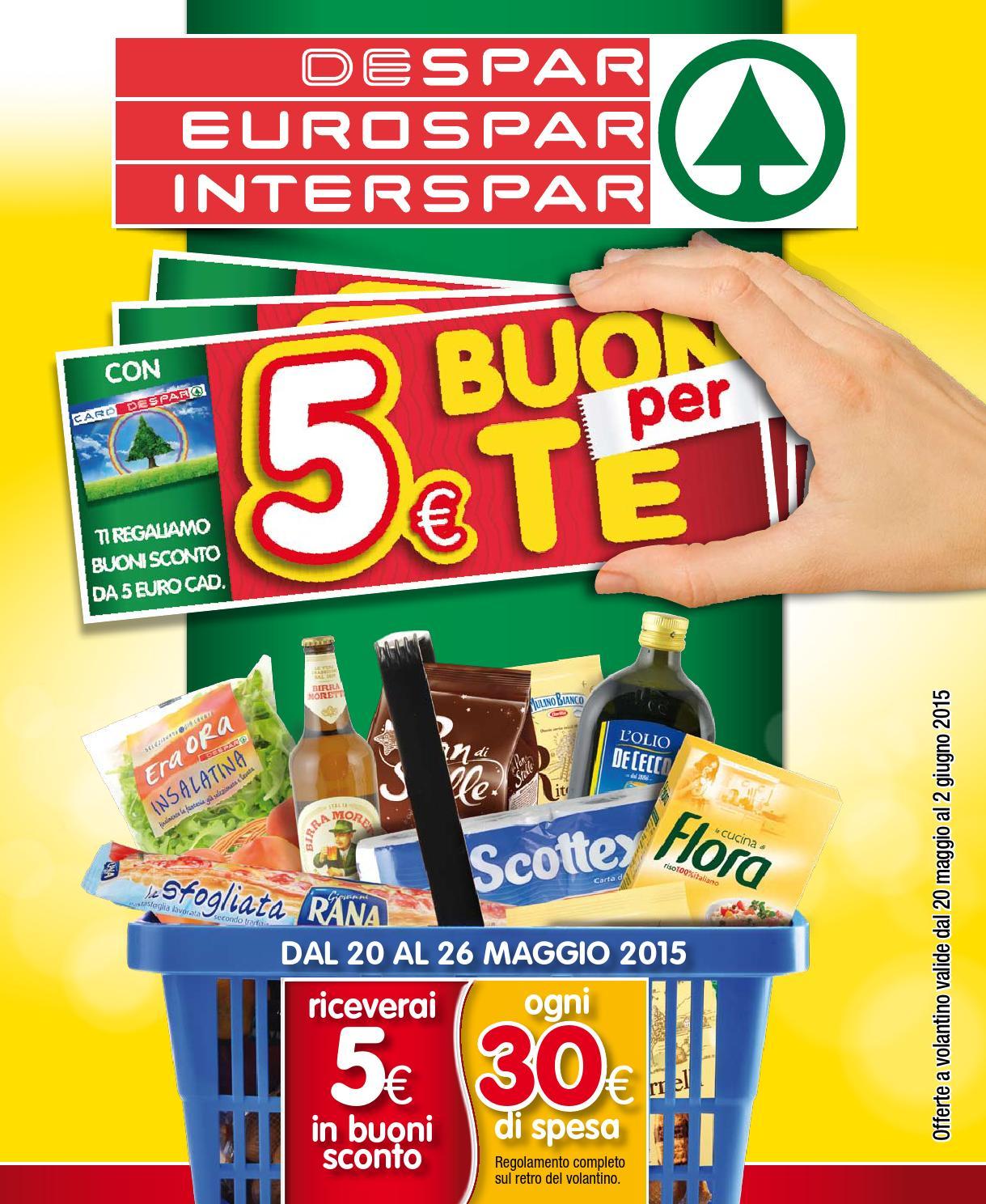 Despar eurospar interspar volantino offerte 10 2015 by for Volantino offerte despar messina