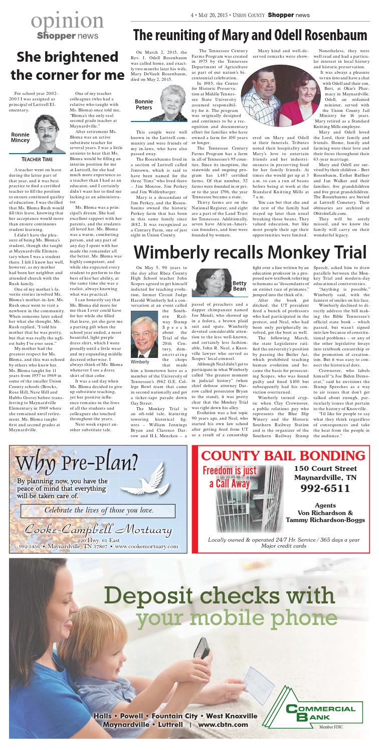 Union County Shopper-News 052015 by Shopper-News - issuu