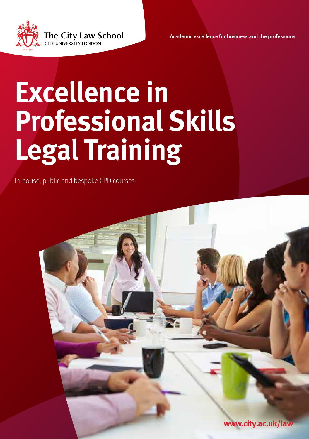 City Law CPD Booklet 2015