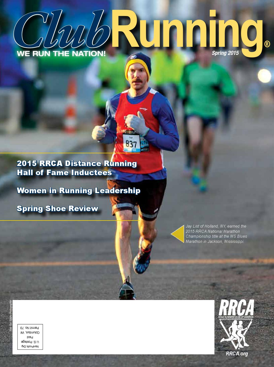 2015 Spring Club Running Magazine by Road Runners Club of