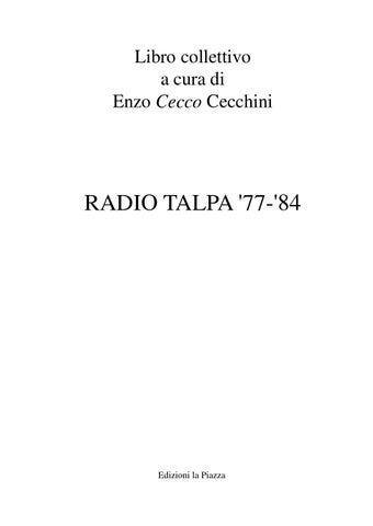 Radio Talpa 77 84 By Radio Talpa Issuu