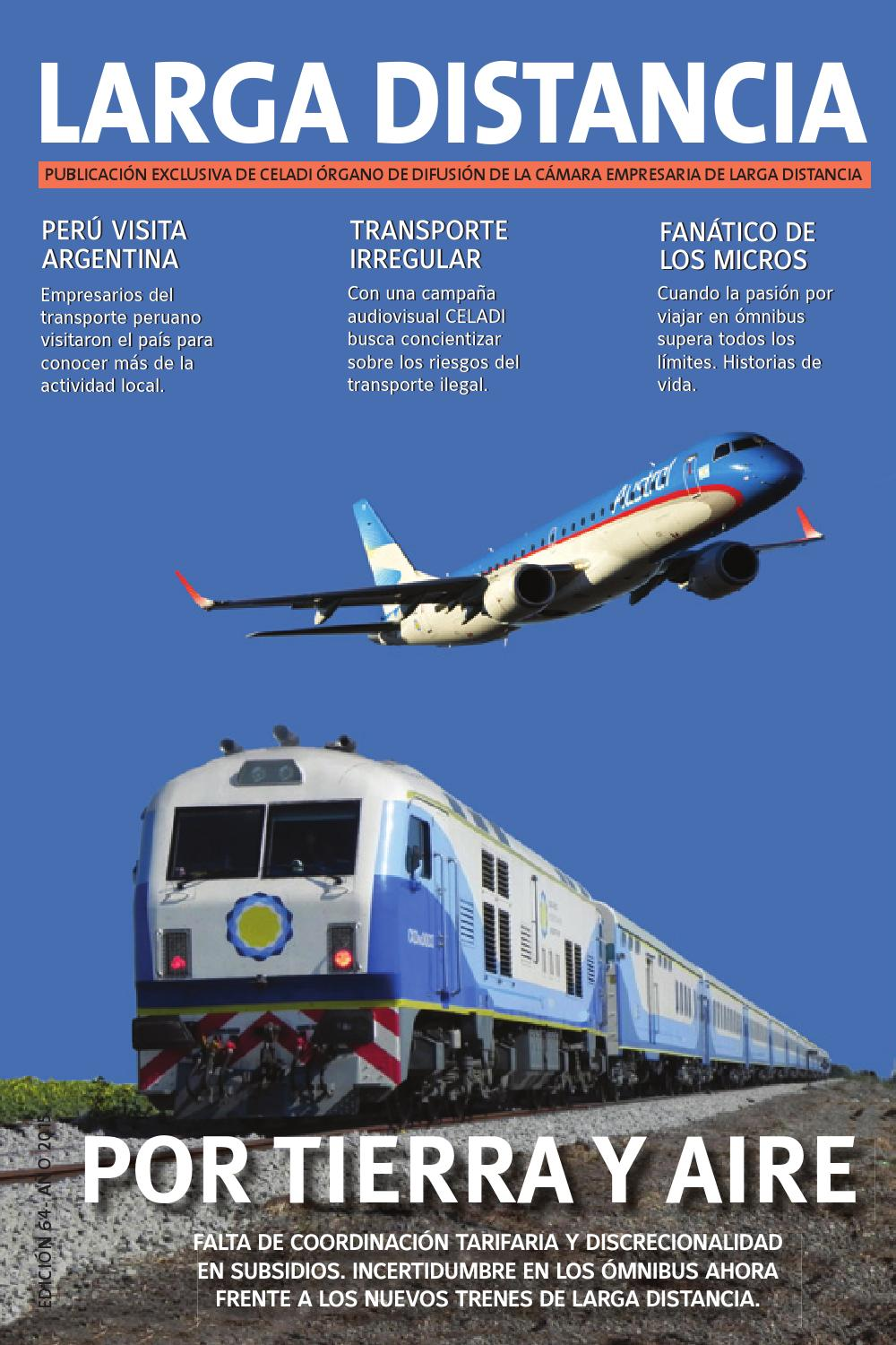 Revista larga distancia edici n 64 by gustavo gaona issuu - Autobuses larga distancia ...