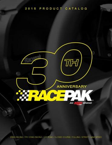 Racepak Product Brochure 2015 by Racepak - issuu on