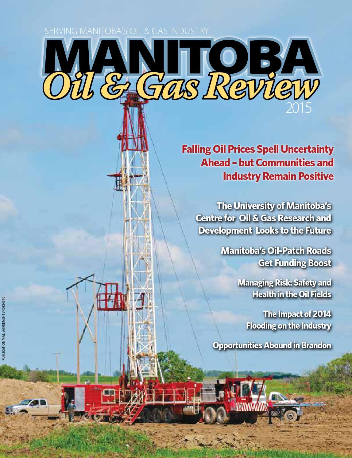 Manitoba Oil & Gas 2015 by DEL Communications Inc. - issuu