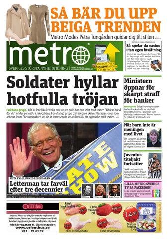 98aedf87a0f SA BAR DU UPP BEIGA TRENDEN Metro Modes Petra Tungården guidar dig till  stilen ANNONS