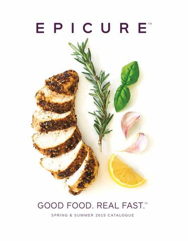 Epicure Good Food Real Fast