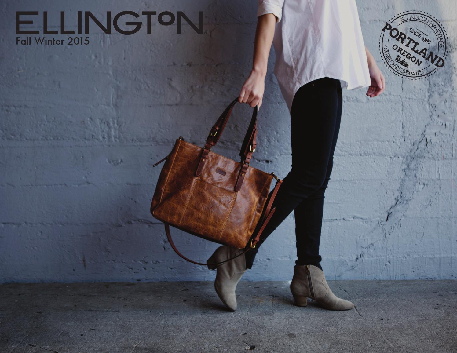 Fw15 Catalog By Ellington Handbags Issuu