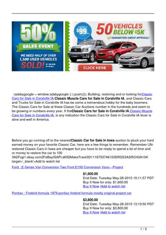 Classic Cars For Sale In Coralville Ia Classic Car Trader Iowa By