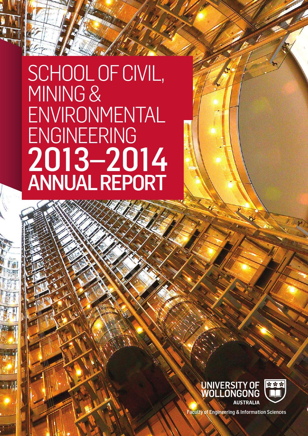 Cme Annual Report 2013 2014 By Faculty Of Engineering Information Chairman Utility Chair Uc 506 Sciences Issuu