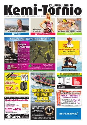 save off d3fce 0055e Kemi-Tornio nro 21 2015 by Crea - issuu