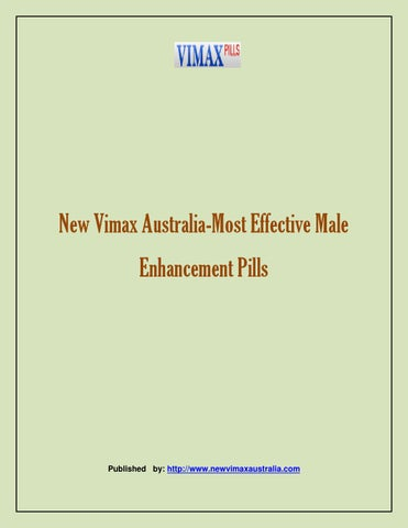 new vimax australia most effective male enhancement pills by