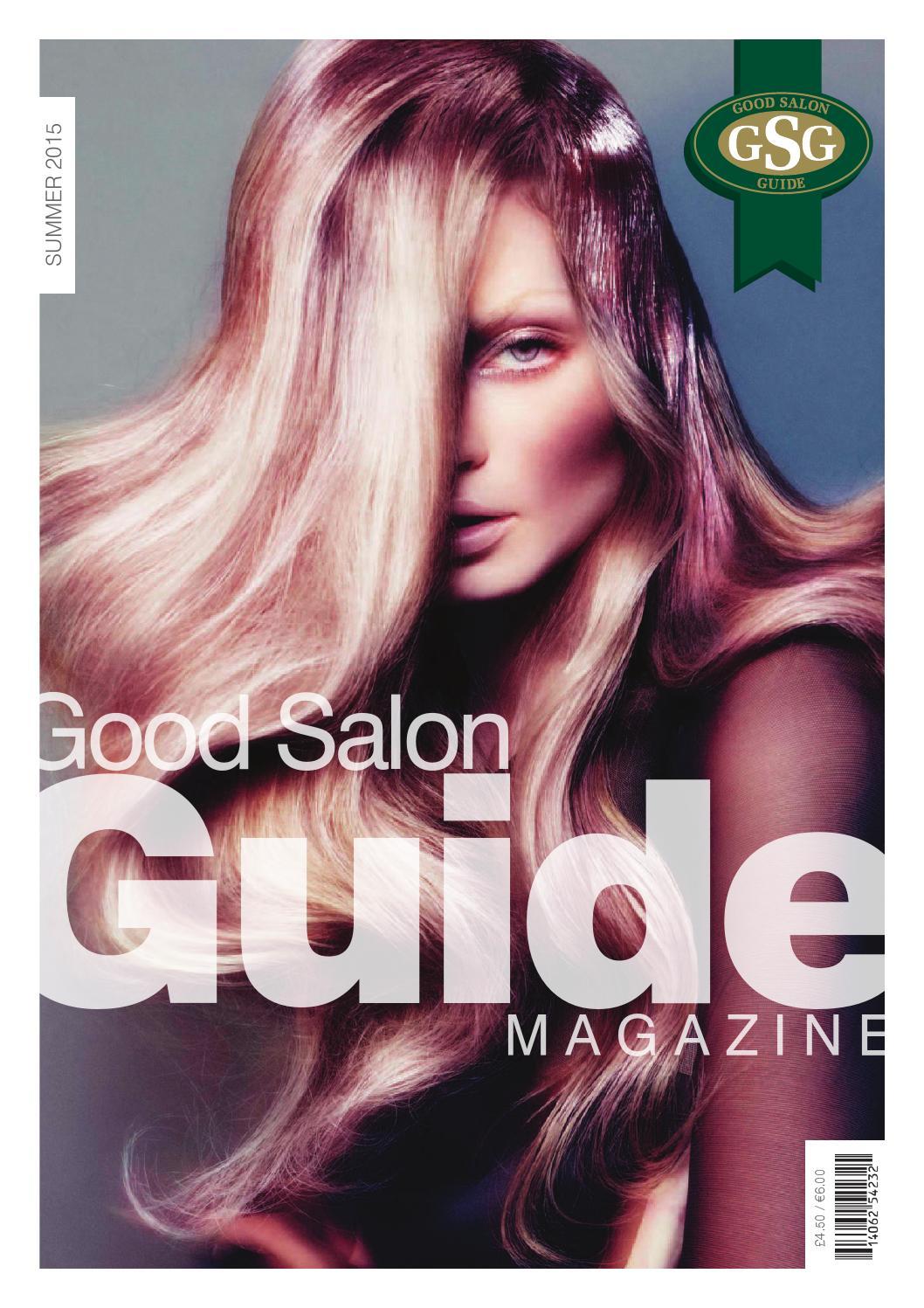 good salon guide magazine summer 15 by good salon guide issuu
