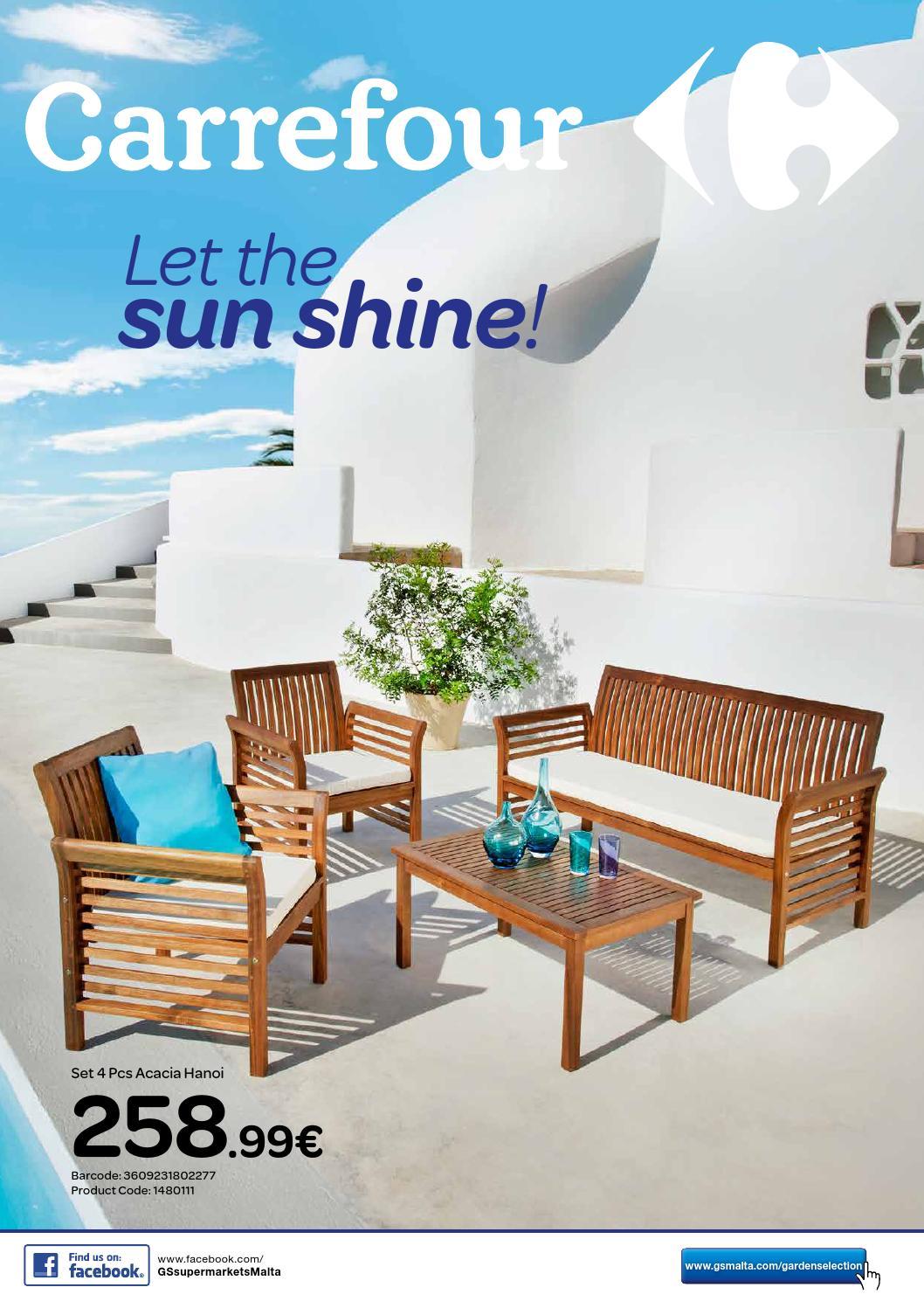 Carrefour Garden Furniture Catalogue