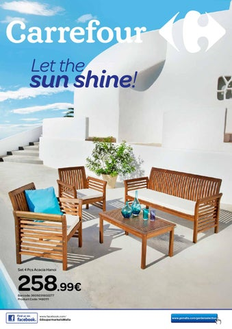 carrefour garden furniture catalogue may 2015 by the concept rh issuu com outdoor furniture catalogs outdoor furniture specialists catalogue
