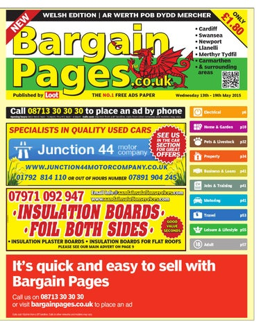 bedbab7f6b23 Bargain Pages Wales