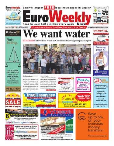 Euro Weekly News - Costa Blanca South 21 - 27 May 2015 Issue 1559 by ... dfd20fa85