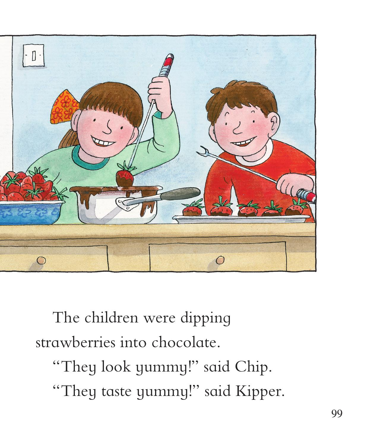 Read With Biff, Chip And Kipper: The Golden Touch By
