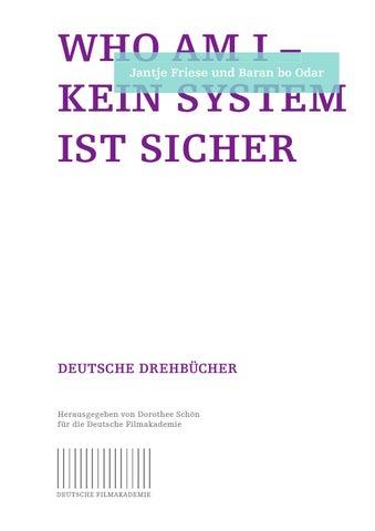 Who Am I Kein System Ist Sicher By Deutsche Filmakademie Ev Issuu
